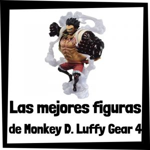 Figuras de colección de Monkey D. Luffy Gear 4 de One Piece - Las mejores figuras de colección de Luffy