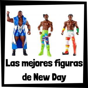 Figuras de colección de The New Day - Las mejores figuras de acción y muñecos de The New Day de WWE