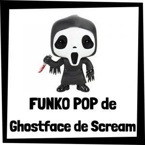 FUNKO POP de colección de Ghostface de Scream - Las mejores figuras de colección de Ghostface de Scream