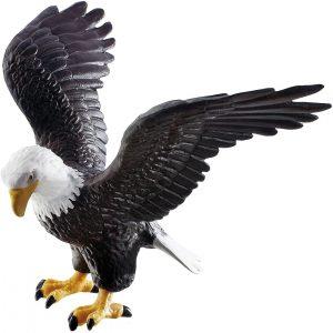 Figura de Águila Calva de Bullyland - Los mejores muñecos de águilas - Figuras de águila de animales