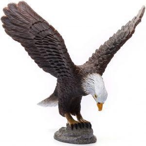 Figura de Águila Calva de Collecta - Los mejores muñecos de águilas - Figuras de águila de animales