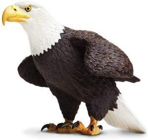 Figura de Águila Calva de Safari 2 - Los mejores muñecos de águilas - Figuras de águila de animales