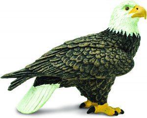 Figura de Águila Calva de Safari - Los mejores muñecos de águilas - Figuras de águila de animales