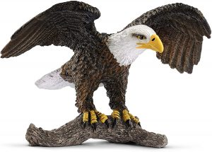 Figura de Águila Calva de Schleich - Los mejores muñecos de águilas - Figuras de águila de animales