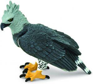 Figura de Águila Harpía de Safari - Los mejores muñecos de águilas - Figuras de águila de animales