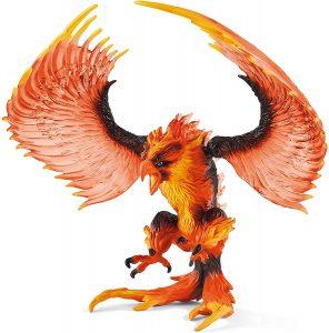 Figura de Águila de fuego de Schleich - Los mejores muñecos de águilas - Figuras de águila de animales