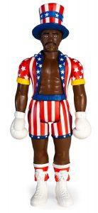 Figura de Apollo Creed de Rocky de ReAction - Los mejores muñecos de Rocky - Figuras de Rocky