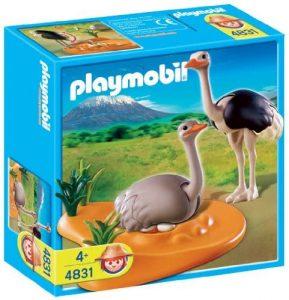 Figura de Avestruz de Playmobil - Los mejores muñecos de avestruces - Figuras de Avestruz de animales