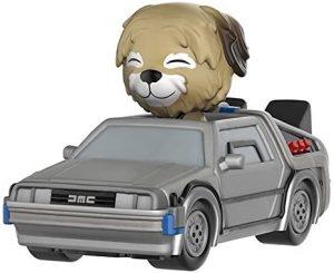 Figura de Delorean de Regreso al futuro de Dorbz - Los mejores muñecos de Back to the future - FIguras de Regreso al Futuro