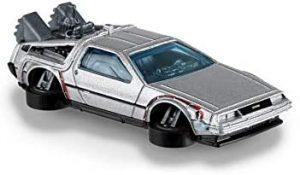 Figura de Delorean de Regreso al futuro de Hot Wheels - Los mejores muñecos del Delorean Back to the future - Figuras Delorean de Regreso al Futuro