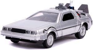Figura de Delorean de Regreso al futuro de Jada barato - Los mejores muñecos del Delorean Back to the future - Figuras Delorean de Regreso al Futuro
