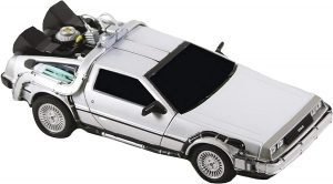 Figura de Delorean de Regreso al futuro de NECA - Los mejores muñecos del Delorean Back to the future - Figuras Delorean de Regreso al Futuro