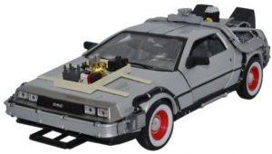 Figura de Delorean de Regreso al futuro de Welly - Los mejores muñecos de Back to the future - FIguras de Regreso al Futuro