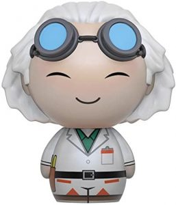 Figura de Doc Brown de Regreso al futuro de Dorbz - Los mejores muñecos de Back to the future - FIguras de Regreso al Futuro