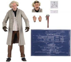 Figura de Doc Brown de Regreso al futuro de NECA - Los mejores muñecos de Back to the future - FIguras de Regreso al Futuro