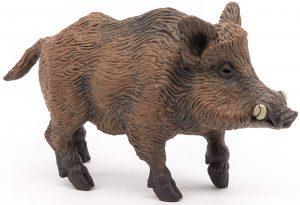 Figura de Jabalí de Papo - Los mejores muñecos de jabalíes - Figuras de jabalí de animales