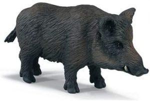 Figura de Jabalí de Schleich clásico - Los mejores muñecos de jabalíes - Figuras de jabalí de animales