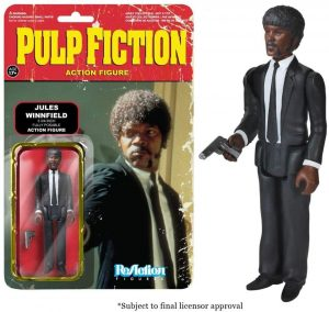 Figura de Jules Winnfield de ReAction - Los mejores muñecos de Pulp Fiction - Figuras de Pulp Fiction de Tarantino