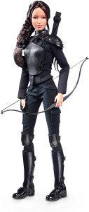 Figura de Katniss Everdeen de Barbie de Mattel - Los mejores muñecos de los Juegos del Hambre - Figuras de Hunger Games