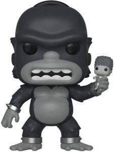 Figura de King Kong de los Simpsons de FUNKO POP - Los mejores muñecos de Kong - Figuras de King Kong el gorila