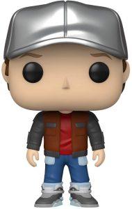 Figura de Marty Mcfly con gorra de Regreso al futuro de FUNKO POP - Los mejores muñecos de Back to the future - FIguras de Regreso al Futuro