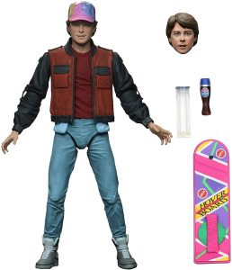 Figura de Marty Mcfly de Regreso al futuro de NECA 2 - Los mejores muñecos de Back to the future - FIguras de Regreso al Futuro