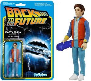 Figura de Marty Mcfly de Regreso al futuro de ReAction - Los mejores muñecos de Back to the future - FIguras de Regreso al Futuro