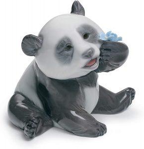 Figura de Oso Panda Gigante de Lladró 2 - Los mejores muñecos de osos panda - Figuras de oso panda de animales