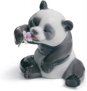 Figura de Oso Panda Gigante de Lladró - Los mejores muñecos de osos panda - Figuras de oso panda de animales