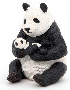 Figura de Oso Panda Gigante de Papo - Los mejores muñecos de osos panda - Figuras de oso panda de animales