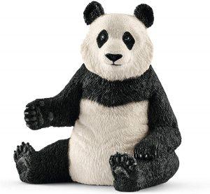 Figura de Oso Panda Gigante hembra de Schleich - Los mejores muñecos de osos panda - Figuras de oso panda de animales