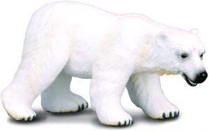 Figura de Oso polar de Collecta - Los mejores muñecos de osos polares - Figuras de oso polar de animales