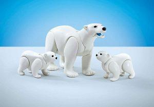 Figura de Oso polar de Playmobil - Los mejores muñecos de osos polares - Figuras de oso polar de animales