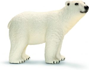 Figura de Oso polar de Schleich 2 - Los mejores muñecos de osos polares - Figuras de oso polar de animales