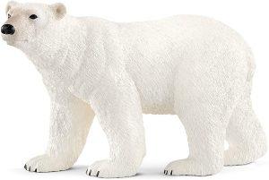 Figura de Oso polar de Schleich - Los mejores muñecos de osos polares - Figuras de oso polar de animales
