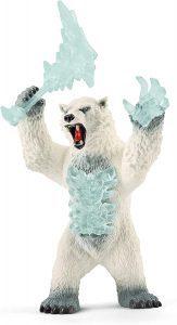 Figura de Oso polar mutante de Schleich - Los mejores muñecos de osos polares - Figuras de oso polar de animales