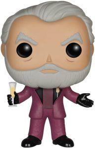 Figura de Presidente Snow de FUNKO - Los mejores muñecos de los Juegos del Hambre - Figuras de Hunger Games