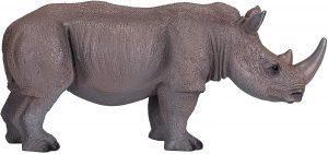 Figura de Rinoceronte blanco de Mojo - Los mejores muñecos de rinocerontes - Figuras de rinoceronte de animales