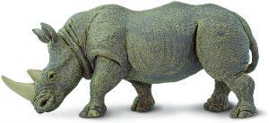 Figura de Rinoceronte blanco de Safari - Los mejores muñecos de rinocerontes - Figuras de rinoceronte de animales