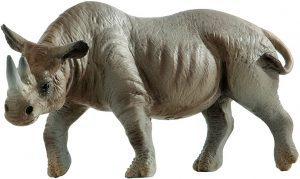 Figura de Rinoceronte de Bullyland - Los mejores muñecos de rinocerontes - Figuras de rinoceronte de animales