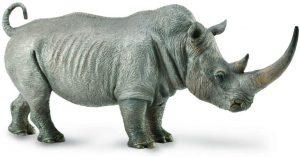 Figura de Rinoceronte de Collecta - Los mejores muñecos de rinocerontes - Figuras de rinoceronte de animales