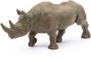Figura de Rinoceronte de Papo - Los mejores muñecos de rinocerontes - Figuras de rinoceronte de animales