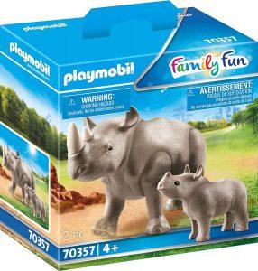 Figura de Rinoceronte de Playmobil - Los mejores muñecos de rinocerontes - Figuras de rinoceronte de animales
