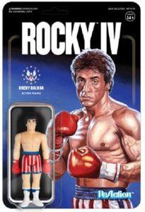 Figura de Rocky Balboa de ReAction - Los mejores muñecos de Rocky - Figuras de Rocky