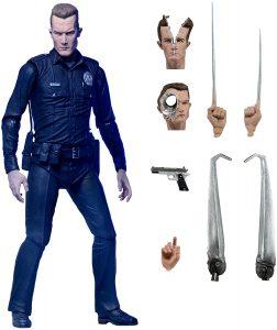 Figura de Terminator T-1000 de NECA - Muñecos de Terminator - Figuras coleccionables de Terminator
