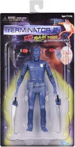 Figura de Terminator T-1000 de NECA White Hot - Muñecos de Terminator - Figuras coleccionables de Terminator