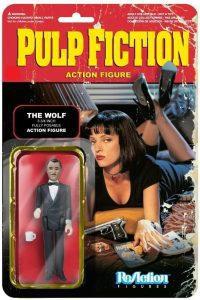 Figura de The Wolf de ReAction - Los mejores muñecos de Pulp Fiction - Figuras de Pulp Fiction de Tarantino