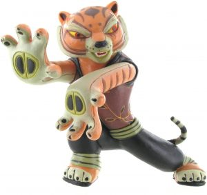 Figura de Tigresa de Kung Fu Panda de Comansi - Los mejores muñecos de tigres - Figuras de tigrede animales