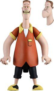 Figura de Ultimate Biff Tannen animado de Regreso al futuro de NECA - Los mejores muñecos de Back to the future - FIguras de Regreso al Futuro