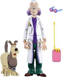 Figura de Ultimate Doc Brown animado de Regreso al futuro de NECA - Los mejores muñecos de Back to the future - FIguras de Regreso al Futuro